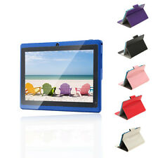"""iRULU eXpro 7"""" Blue Tablet PC 16GB Google Android 4.4 OS Quad Core w/ Free Case"""