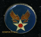 US ARMY AIR FORCE CORPS VETERAN HAT LAPEL HAT PIN 1942-47 WW 2 WING AFB GIFT WOW