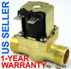 1/2 inch 24V AC VAC Brass Electric Solenoid Valve Gas Water Air 1-YEAR WARRANTY