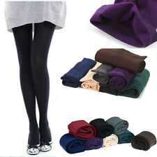 Womens Knit Winter Leggings Fashion Footed Warm Cotton Stockings Thick Warm