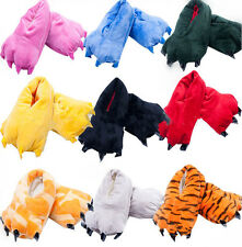 Monster Feet Animal Claw Warm Slipper Halloween Cosplay Costume Paw Shoes KTX