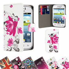 WALLET PU LEATHER CASE COVER FOR LG Optimus  Various Phone SCREEN PROTECTOR