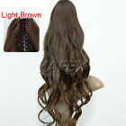 Free shipping Fashion Long Wavy curly Ponytail Pony Hair Extension Ladies Stock