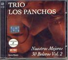 TRIO LOS PANCHOS 30 BOLEROS VOLUMEN 2 2 CD SET SEALED