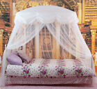 NEW Mosquito Net Bed Canopy White Princess bedding fits twin / Queen / King