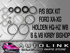 POWER STEERING BOX KIT SUIT HOLDEN MONARO HQ HJ HX HZ GTS SS 6 & V8 KIRBY BISHOP