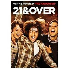 21 and Over (DVD, 2013)DVD DISC ONLY. NO BOX. NEVER PLAYED.MOVIE ONLY