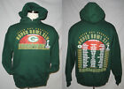 Packers 3XL Hoodie Sweatshirt Super Bowl 45 w ROSTERS