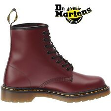 DM Docs Dr Martens Airwair 1460Z cherry red 8 eyelet non-safety boot size 3-15