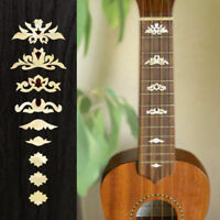Ukulele Deluxe (White Pearl) Fretboard Markers Inlay Sticker Decal