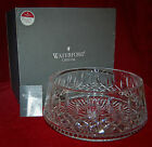 """WATERFORD CRYSTAL VERY LARGE DISH 9"""" MIB! VERY BEAUTIFUL PIECE MADE IN IRELAND"""