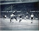 Geoff Hurst signed 1966 World Cup Final goal photo UACC RD