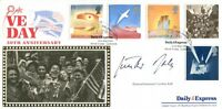 WW2 Luftwaffe ace Gunther Rall KC signed Benham FDC UACC RD