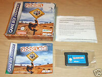 Zoocube - Nintendo Gameboy Advance GBA BOXED - TESTED