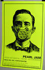 PEARL JAM in Concert Show Poster Gasmask Very COOL