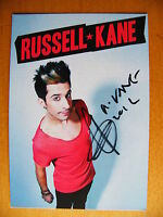 RUSSELL KANE SIGNED GENUINE AUTOGRAPH 6X4 OFFICIAL PHOTO CARD COMEDIAN COA