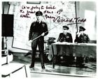 The Dambusters movie photo signed Richard Todd with VERY RARE QUOTE