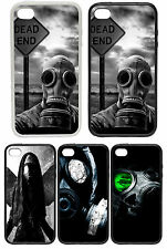 Gas Mask Designs - Rubber and Plastic Phone Cover Case