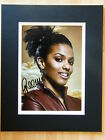 FREEMA AGYEMAN GENUINE HAND SIGNED AUTOGRAPH 10X8 PHOTO MOUNT DOCTOR DR WHO COA