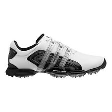 NEW ADIDAS POWERBAND 4.0 GOLF SHOES WHITE/BLACK/SILVER 816468 - PICK YOUR SIZE