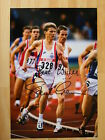 STEVE CRAM GENUINE HAND SIGNED AUTOGRAPH 12X8 PHOTO OLYMPICS ATHLETICS & COA