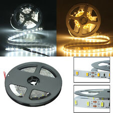 BOBINA STRISCIA LED BIANCA FREDDA SMD5630 300 LEDs 5 METRI STRIP DC 12V LUCE HOT