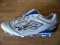 ROBERTO CARLOS HAND SIGNED AUTOGRAPH FOOTBALL BOOT BRAZIL REAL MADRID & PROOF