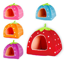 Cute Lovely Pet Bed Removable Washable Dog Indoor House Cat Kennel Soft Warmer