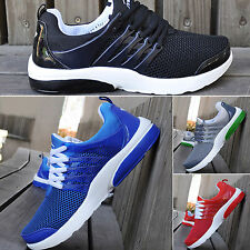 Running Trainers Sneakers Men's Walking Shock Absorbing Breathable Sports Shoes