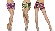 Damen Stoffhose, kurze Hose Damenhose, Hot Pants Shorts Gr. 34-36 (XS-S)