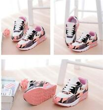 Womens Mesh Camouflage Sports Shoes Lace Breathable Running Sneaker Newest Style