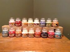 YANKEE CANDLE SMALL JAR 3.7 oz ANY 2 FOR $18 MUST BUY 2 + FREE SHIPPING !!!