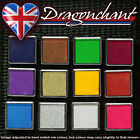 Rubber Stamps Ink Pad for Paper Wood Fabric 12 Colours & Black Craft Budget UK