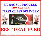 50 DURACELL PROCELL INDUSTRIAL AAA PROFESSIONAL ALKALINE BATTERIES BATTERY