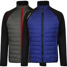 PROQUIP 2015 Full Zip Therma Tour Quilted Insulated Mens Golf Jacket