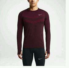 Nike Dri-Fit Knit Long Sleeve Men's Running Shirt