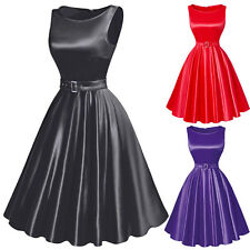 CHEAP 50s 60s Vintage Dresses FLARED Rockabilly Pin up Swing Evening Prom Dress