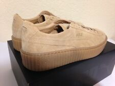 PUMA BY RIHANNA CREEPER | SUEDE | Beige - OATMEAL LIMITED 361005-03 Women 7-9