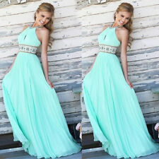 2015 Sexy Evening Party Ball Prom Gown Formal Bridesmaid Cocktail Long Dress New
