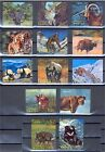 ANIMALS, 3 D STAMPS FROM BHUTAN - 1970, VF MNH