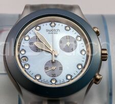 Swath Irony Diaphane Chrono - SVCK4037AG - Full-Blooded Blue - Nuovo