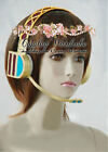 Vocaloid Megurine Luka Cosplay Headphone Light Work with MP3