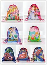 Disney Kids Girls Boys Drawstring School Backpack Waterproof Swimming Bag