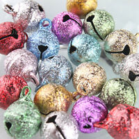 80pcs Hotsell Charms Assorted Jingle Bells DIY Fit Festival/Party Decoration L