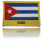 Cuba Embroidered Flag patch -Iron on or Sew