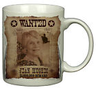 Wild West Cowboy Style 'WANTED POSTER' PERSONALISED PHOTO MUG - Great Gift Idea