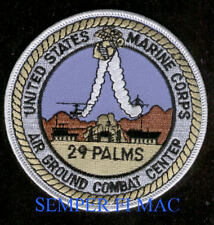 MAGCC 29 PALMS PATCH US MARINE AIR GROUND COMBAT CENTER PIN UP VETERAN GIFT WOW