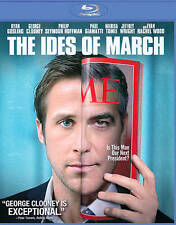 THE IDES OF MARCH/George Clooney, Marisa Tomei/BLU-RAY/BUY ANY 4 ITEMS SHIP FREE