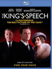 ~ The King's Speech (Blu-ray Disc, 2011) Colin Firth Brand New!!