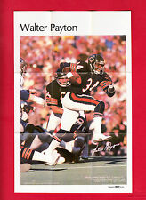 1978 Marketcom  WALTER PAYTON  SP - Mini Poster - Chicago Bears